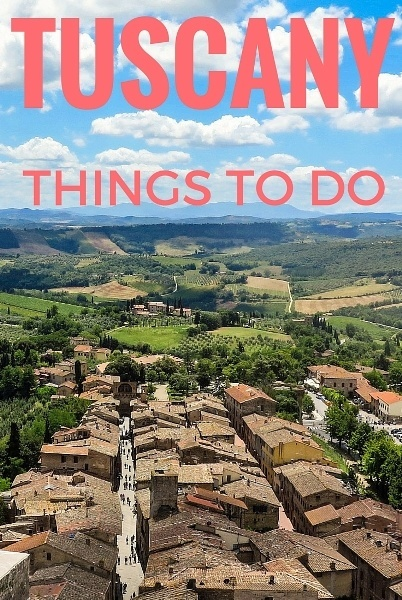 TUSCANY things to do