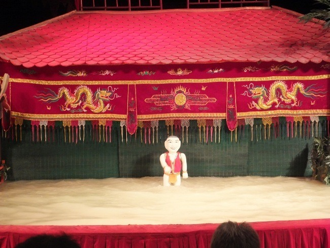 Traditional Vietnamese Water Puppet Show