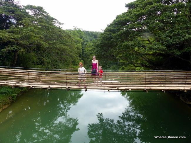 Sipatan Twin Hanging Bridges Bamboo Hanging Bridges
