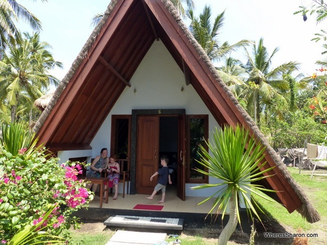 Lucys Garden Resort cabana