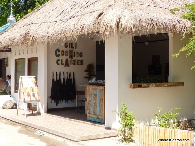 what to do in the gili islands Gili Cooking Classes