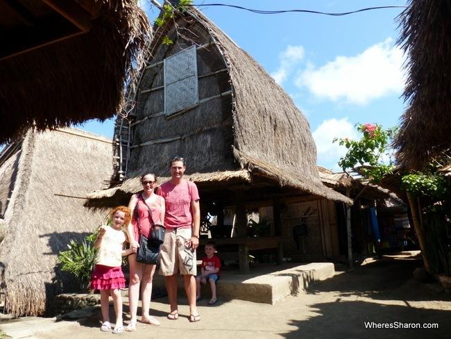 Traditional Sasak Village