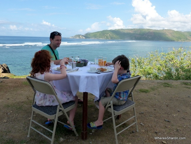 Breakfast at Seger Hill at Novotel Lombok review