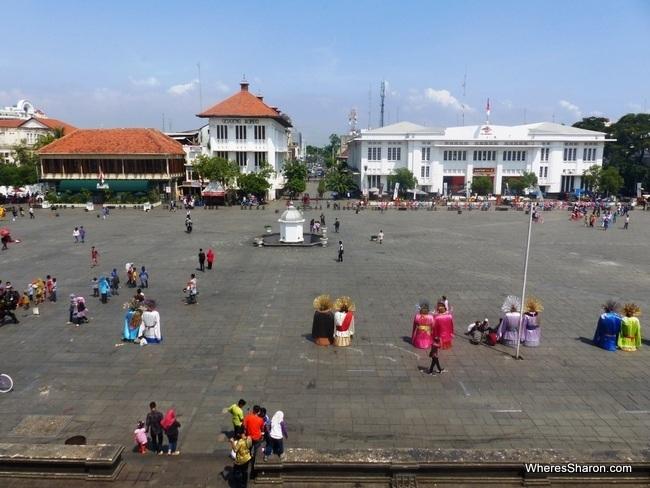 things to do at jakarta - Taman Fatahillah