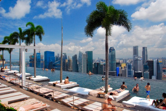 where to stay in singapore with kids at Marina Bay Sands