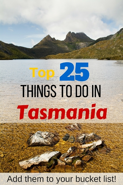 top things to see in tasmania