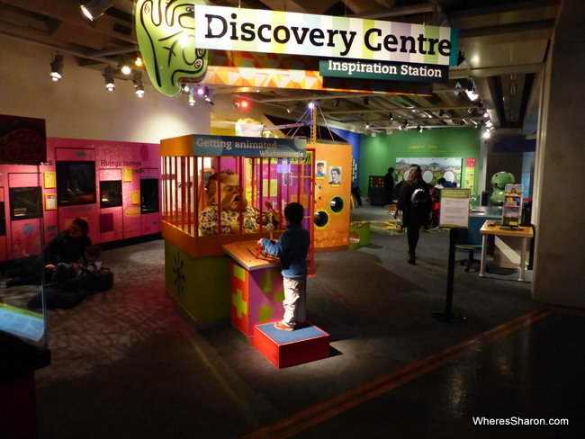 The Discovery centre at Te Papa Museum