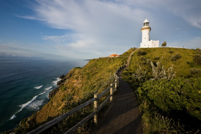 The light house at Byron Bay. New South Wales. Australia.