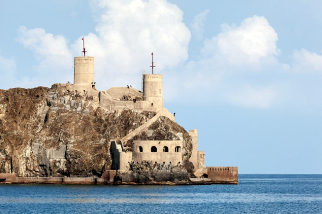 muscat tourist places to visit fort