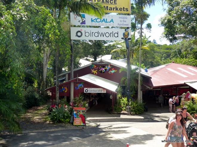 Birdworld Kuranda and Kuranda Koala Gardens