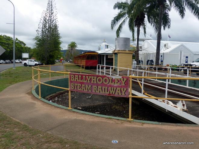 what to do port douglas Bally Hooley Steam Railway