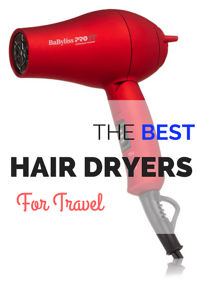 best travel hair dryers reviews