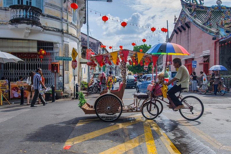 Trishaw in Batu Ferringhi