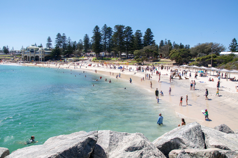 Cottesloe Beach kids fun perth