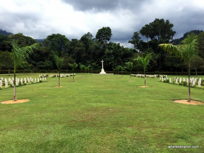 The Commonwealth War Cemetary at Taiping.