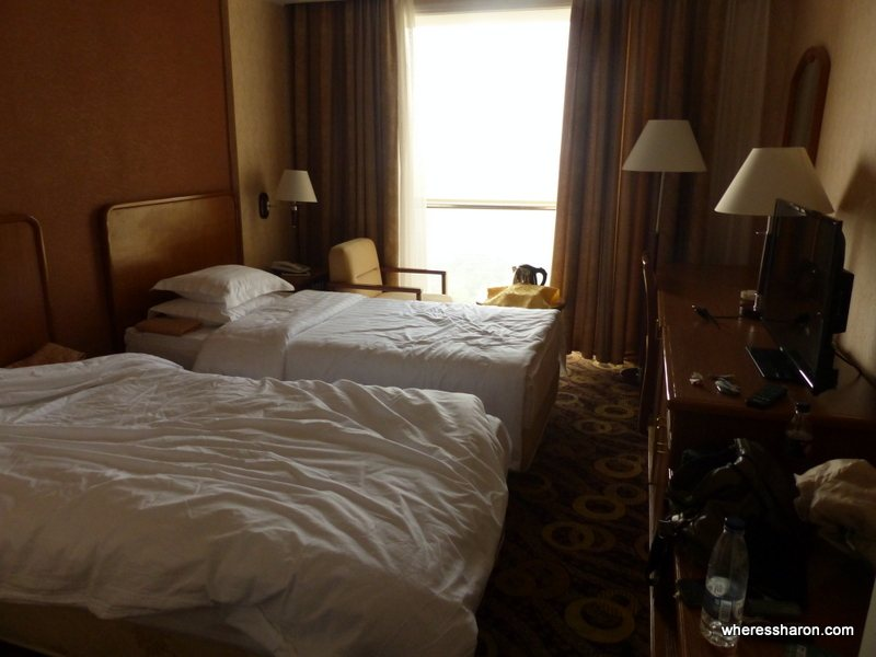 Sosan Hotel pyongyang hotel room