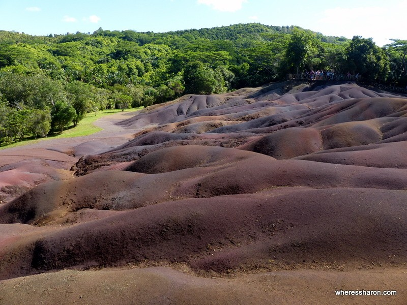 things to do in mauritius on honeymoonTerres de 7 Couleurs