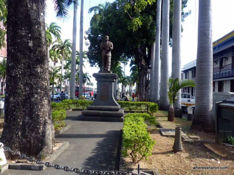 Place d'Armes top ten things to do in mauritius