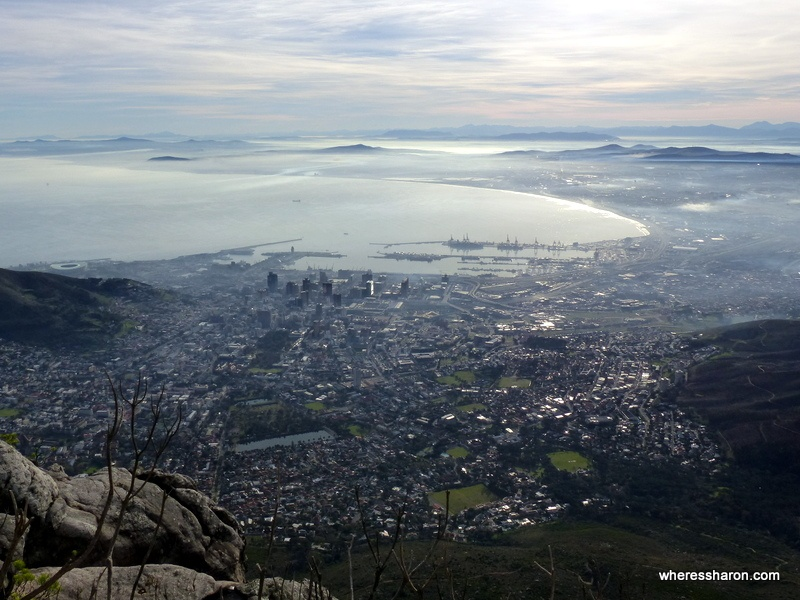 family activities cape town from table mountain