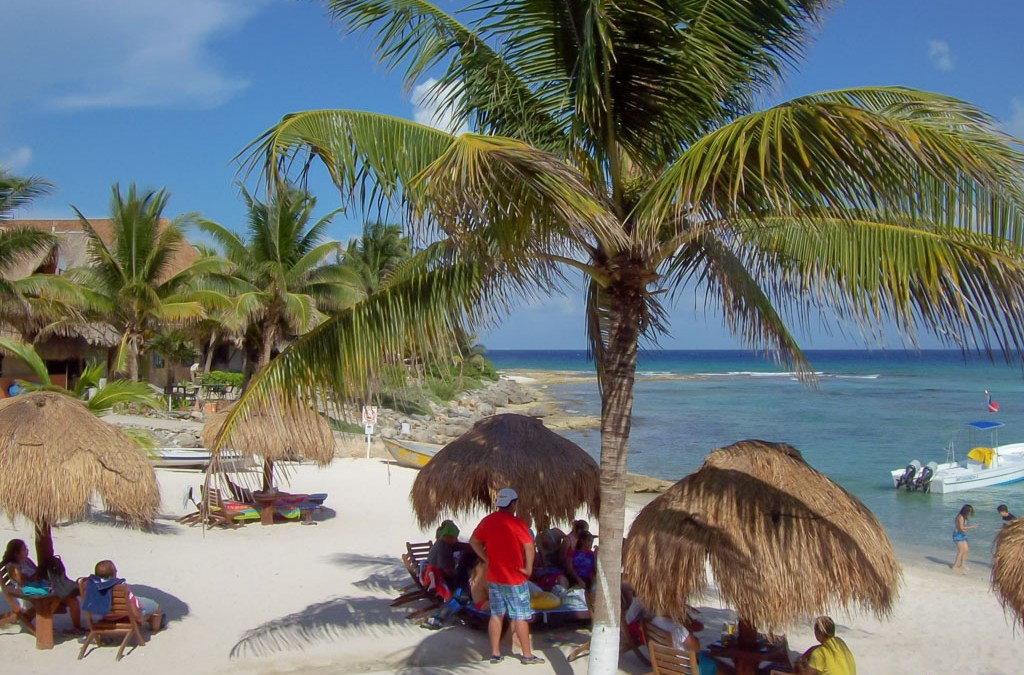 Idyllic Paamul Beach and RV Community on the Mexican Riviera