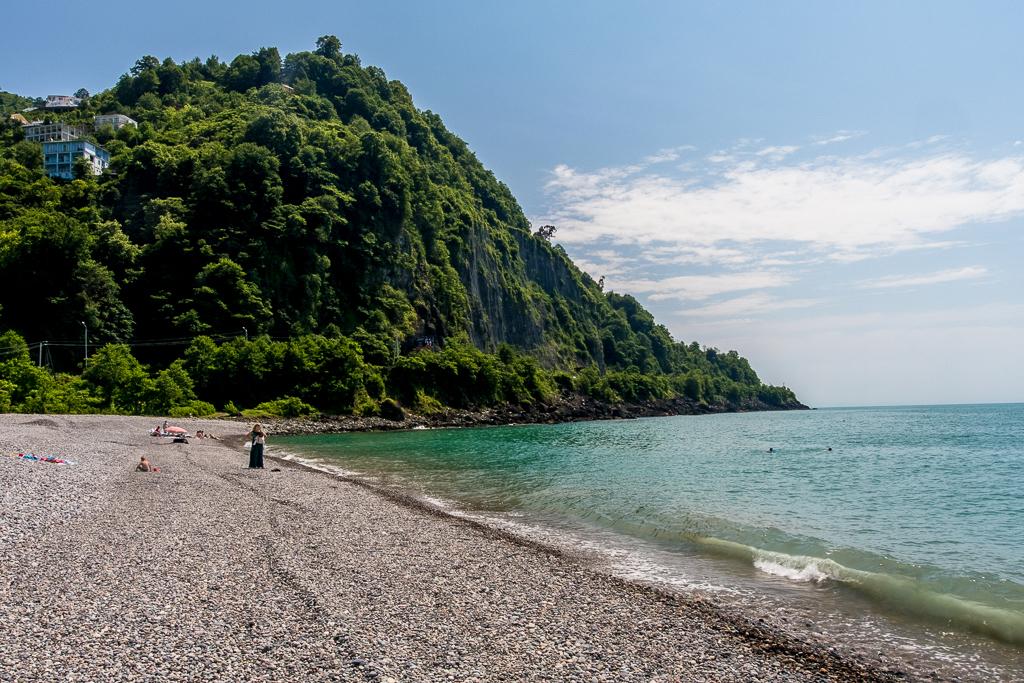 Gonia Beach, 3 km north of Turkish Border