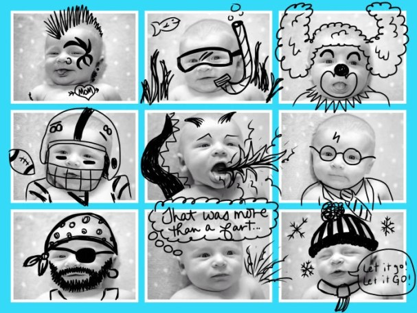 Baby Doodle Face Fun