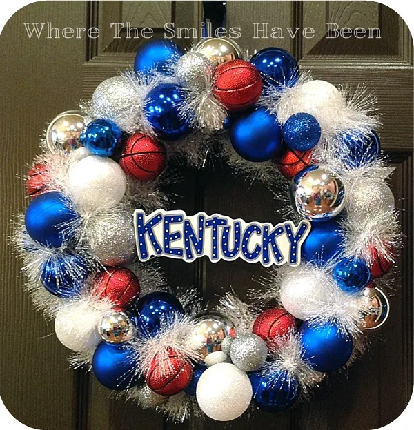Kentucky-Basketball-Ornament-Wreath