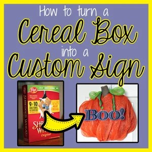 How To Cut A Cereal Box on Silhouette