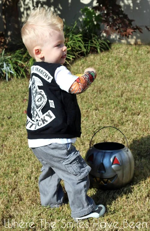 Sons of Anarchy Toddler Halloween Costume Toddlers of Anarchy Cuteness! & Sons of Anarchy Toddler Halloween Costume