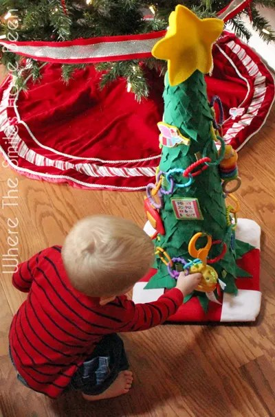 Toddler Christmas Tree Tutorial | Where The Smiles Have Been