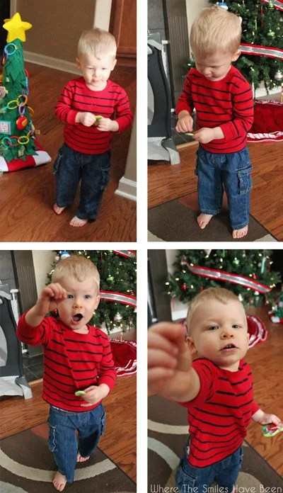 Toddler Christmas Tree Tutorial   Where The Smiles Have Been