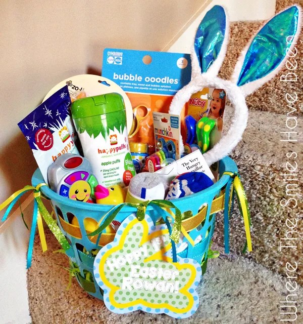 Over 100 easter basket ideas for toddlers over 100 toddler easter basket ideas where the smiles have been negle