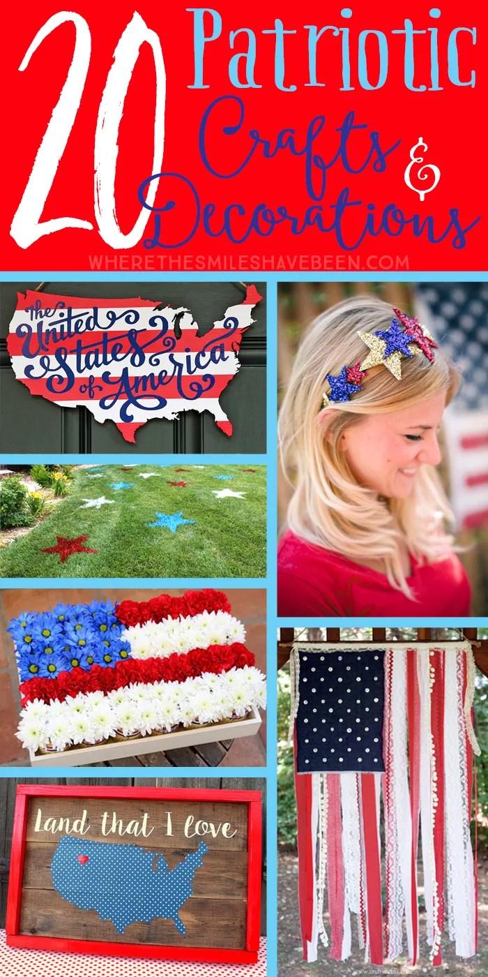 20 Patriotic Craft And Decoration Ideas
