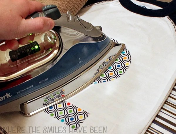 How to Cut Fabric and Make a No-Sew Appliqué| Where The Smiles Have Been