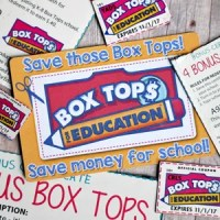 DIY Box Tops Reminder Magnets with FREE Cut File & Printable