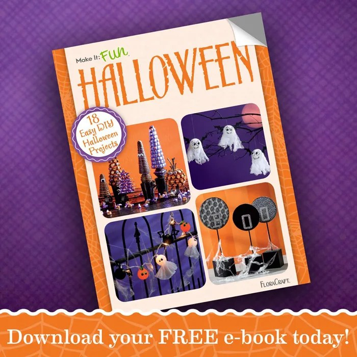 FloraCraft MakeIt: Fun 2015 Halloween eBook! | Where The Smiles Have Been