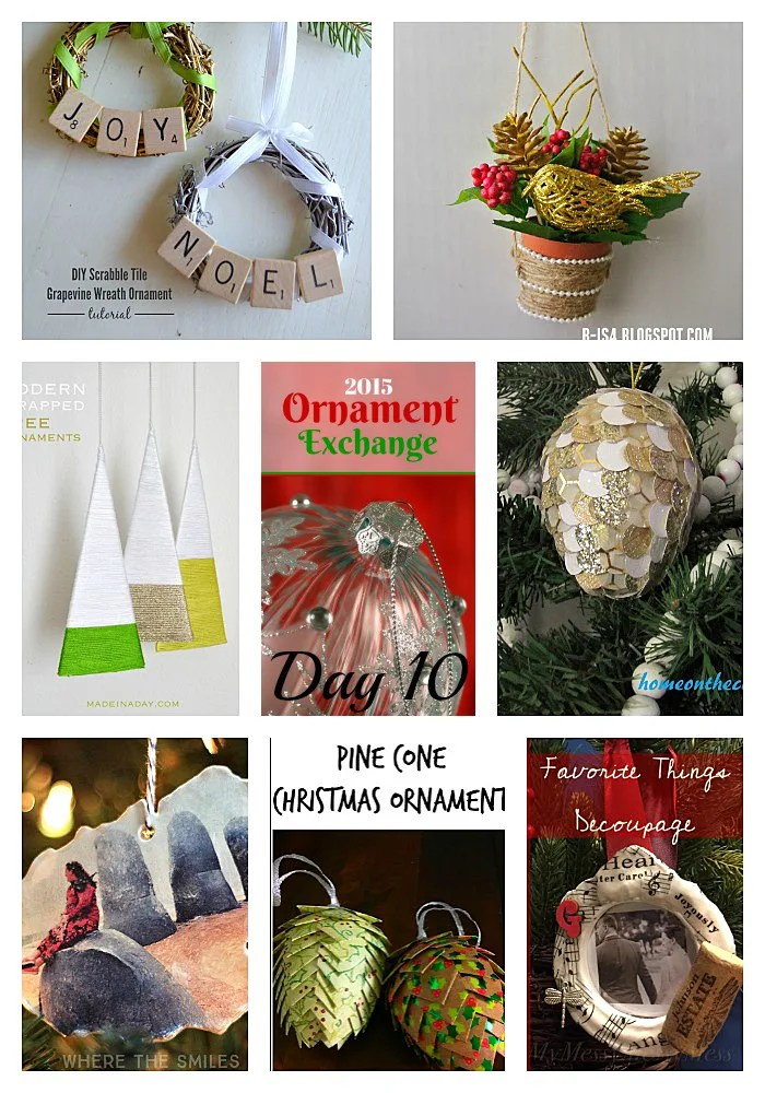 2015 Ornament Exchange: Day 10! | Where The Smiles Have Been
