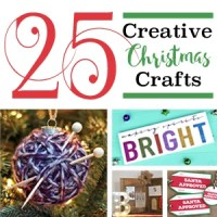 25 Creative Christmas Crafts!