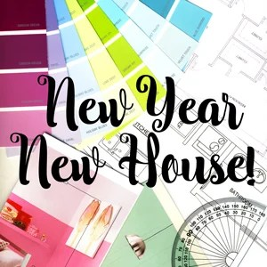 New Year....New House! 2016 is bringing some grand new things here at Where The Smiles Have Been!