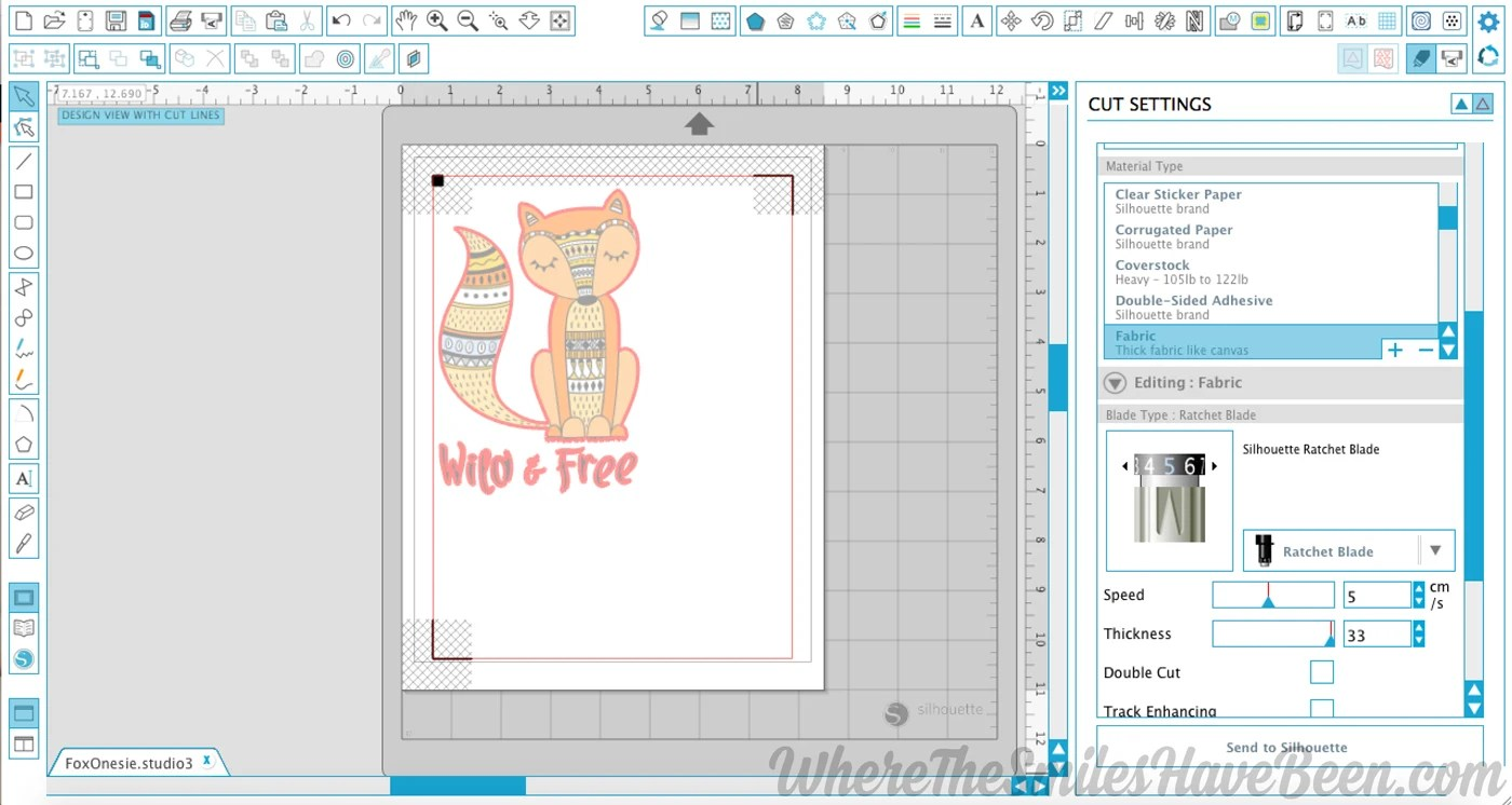 It is a picture of Gratifying Silhouette Printable Vinyl