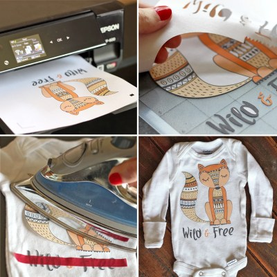 Printable Heat Transfer Vinyl 101 + HUGE Font & Graphic Giveaway!
