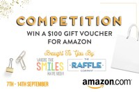Enter to Win a $100 Amazon Gift Card Giveaway with The Raffle Co.!