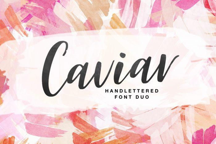 Caviar Font!