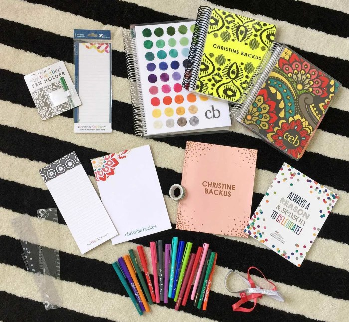 Some of my great Erin Condren office products! | Where The Smiles Have Been