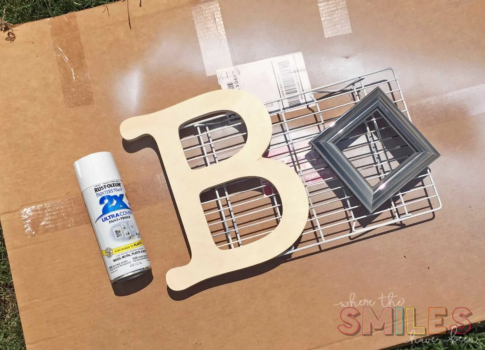 Colorful DIY Sprinkle Letter & Matching Frame: A Great Vinyl Scrap Buster! Where The Smiles Have Been #vinyl #sprinkles #Silhouette
