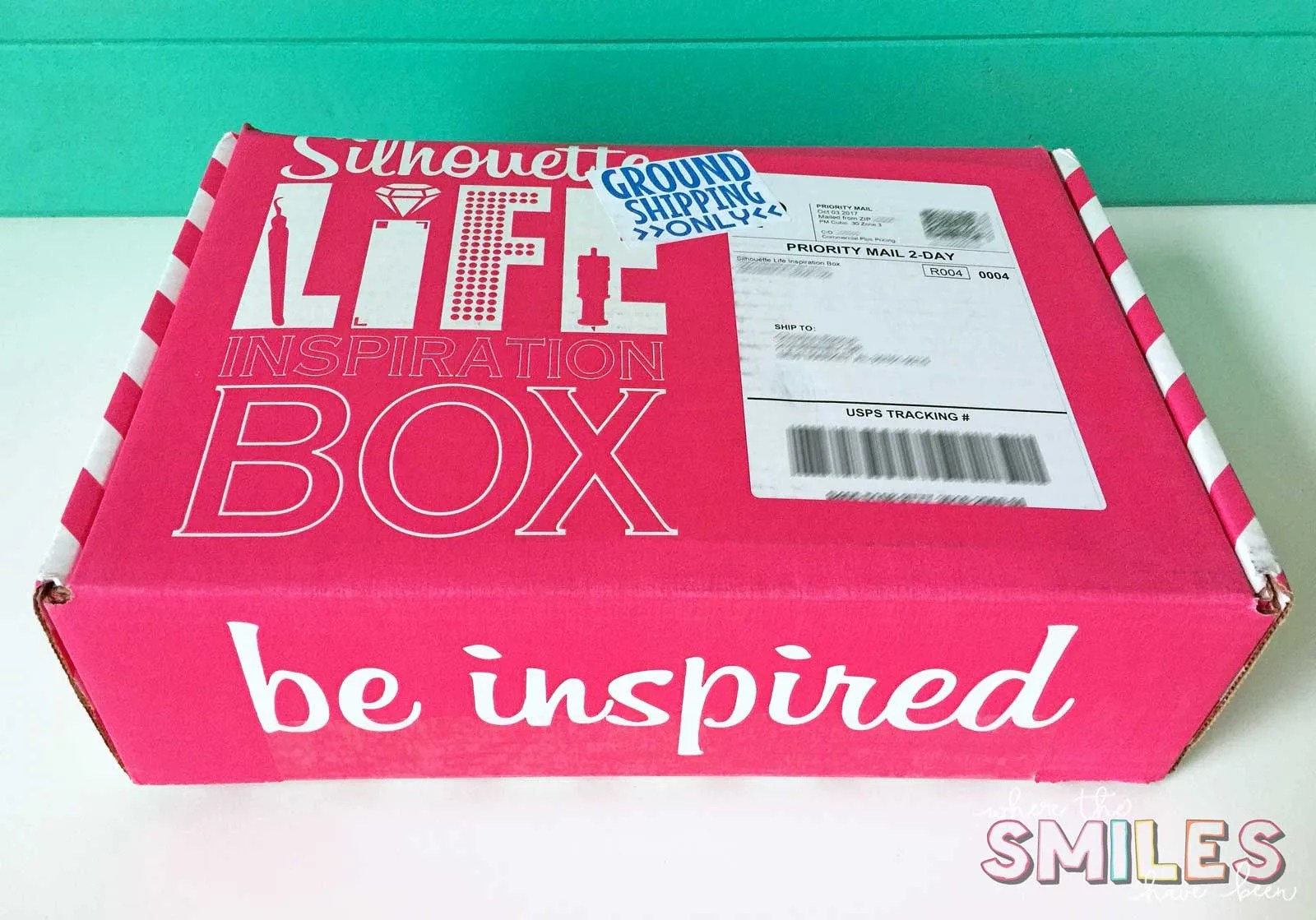 Silhouette Life Inspiration Box Review