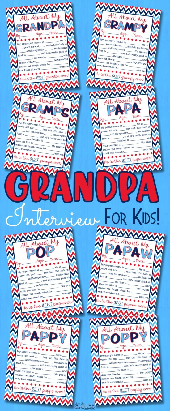 Luscious image in all about grandpa printable
