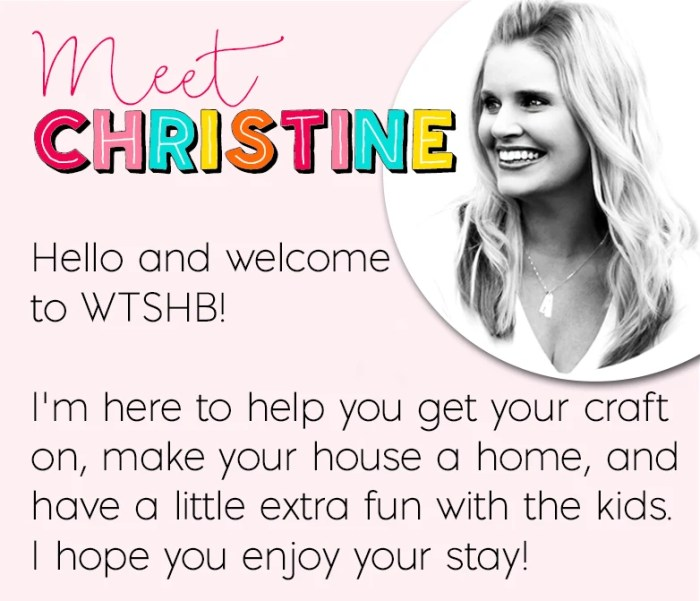 Meet Christine at Where The Smiles Have Been!
