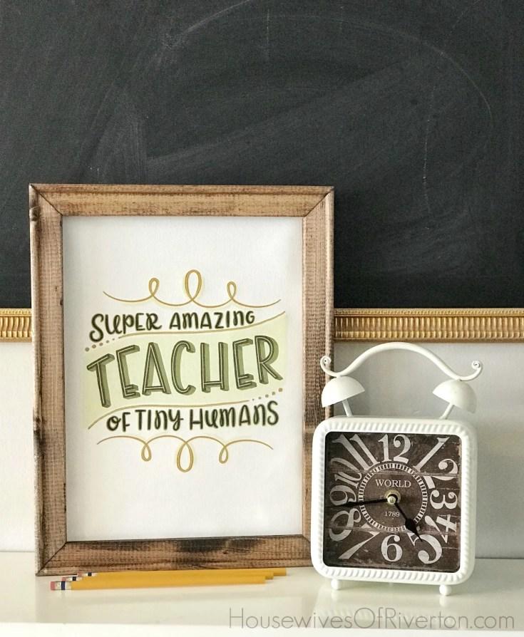 Easy DIY Reverse Canvas Gift Idea