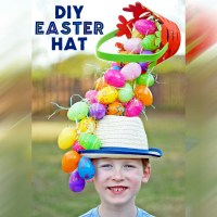 DIY Easter Hat: A Gravity-Defying Basket'O'Eggs!